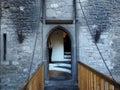 Drawbridge At Bunratty Castle Ireland Royalty Free Stock Photo