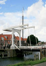 Drawbridge in Enkhuizen Royalty Free Stock Image