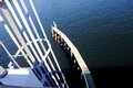 Drawbridge ladder in intercoastal,Florida Royalty Free Stock Photo