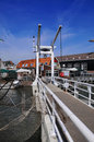 Drawbridge in Monnickendam Royalty Free Stock Photo