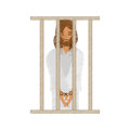 drawing jesus christ sentenced death Royalty Free Stock Photo