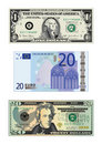 Drawings of money Royalty Free Stock Images