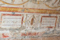 Drawings in Terrace Houses, Ephesus Ancient City Royalty Free Stock Photo