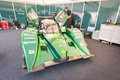 Drayson le mans electric vehicle b ev prototype the land speed record holder for an on display at the festival of speed event in Stock Photography