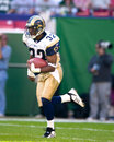 Dre bly st louis rams db image taken from color slide Royalty Free Stock Photography