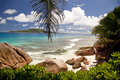Dream beach - Seychelles Royalty Free Stock Images