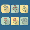 Dream catcher, vector illustration.  design elements. Royalty Free Stock Photo