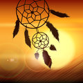 Dream catcher on the Wind Royalty Free Stock Photo