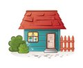 Dream house sweet home for family this is file of eps format Stock Images