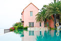 Dream House with swimming pool Stock Photo