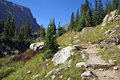 Dream Lake Trail Royalty Free Stock Photography