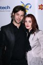 The dream priscilla presley and son navarone garibaldi at foundation celebration of dreams bacara resport and spa santa barbara ca Stock Images