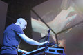 Dream Theater live, Jordan Rudess Royalty Free Stock Images