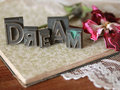 Dream Word Art Royalty Free Stock Photo