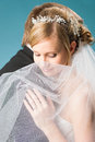 Dreaming bride Stock Photography