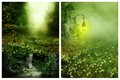 Dreamland amazing background for your artistic inspirations and or your projects Stock Images