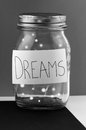 Dreams jar Stock Images