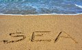 Dreams of the sea Royalty Free Stock Photo