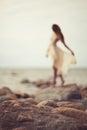Dreamy girl Royalty Free Stock Photo