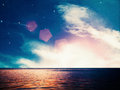 Dreamy ocean abstract environmental backgrounds Royalty Free Stock Image