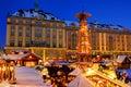 Dresden christmas market Royalty Free Stock Image