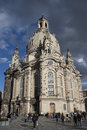 Dresden germany november frauenkirche dresden main church saxony november Royalty Free Stock Photography