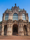Dresden zwinger dresdner rococo palace designed by poeppelmann in as orangery and exhibition gallery of court completed by Stock Image