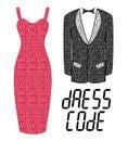 Dress code Royalty Free Stock Photo