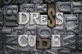 Dress code met Royalty Free Stock Photo