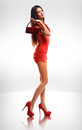 Dress up red. Stock Images