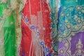 Dresses Indian Colors Detail Stock Photos