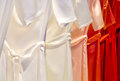 Dresses in a row photo of Stock Photography
