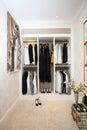 Dressing room Royalty Free Stock Photo