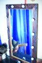 Dressing room mirror Royalty Free Stock Photo