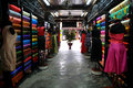 Dressmaker shop a in hoian vietnam Stock Images