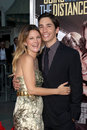 Drew Barrymore,Justin Long Royalty Free Stock Photos
