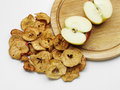 Dried apple fresh tasty ripe with ones Royalty Free Stock Photo