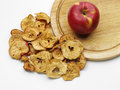 Dried apple tasty ripe with ones Royalty Free Stock Image