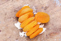 Dried apricot Royalty Free Stock Photo