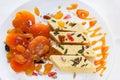 Dried Apricots, Halva, Marmala...