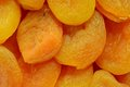 Dried apricots a healthy stored fruit Royalty Free Stock Photo