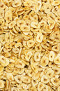 Dried banana slices Royalty Free Stock Photo