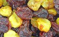 Dried Cherry Mix Close View Royalty Free Stock Photo