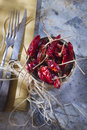 Dried chili presentation of the ingredient prince of the kitchen Royalty Free Stock Images