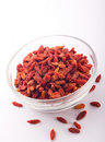 Dried Chinese Wolfberries Royalty Free Stock Photo