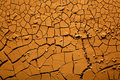Dried cracked earth Royalty Free Stock Photo