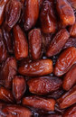 Dried date fruits Royalty Free Stock Images