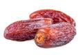 Dried dates closeup
