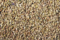 Dried fenugreek seeds a closeup of the background Royalty Free Stock Photos
