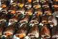 Dried fish is one of good food for thai Royalty Free Stock Photos